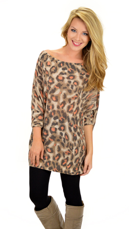 Lauper Leopard Sweater