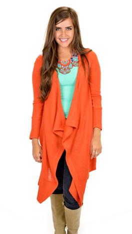 Picture Perfect Sweater, Orange