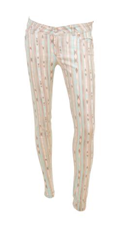 Fashion Packed Pants, Mint Print