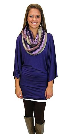 Krissy Kimono, Purple