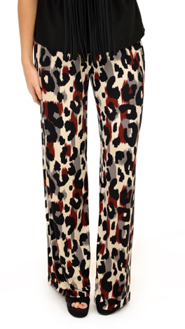Feels So Good Pants, Wine Print
