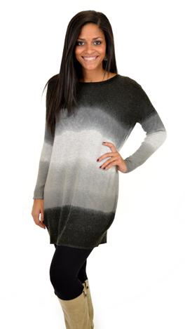 Fade Away Sweater, Black