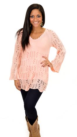 Heaven Sent Sweater, Blush