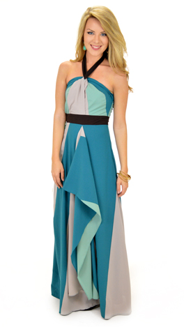 Wave on Wave Maxi