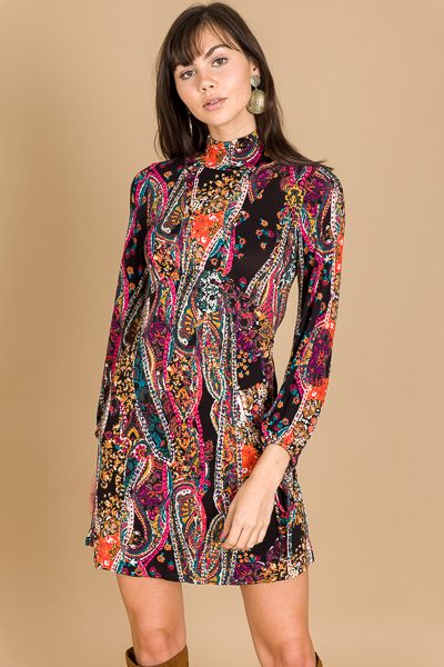 FREE PEOPLE All Dolled Up Mini, Black