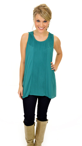 Must Have Top, Teal