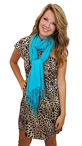 Leopard One Shoulder