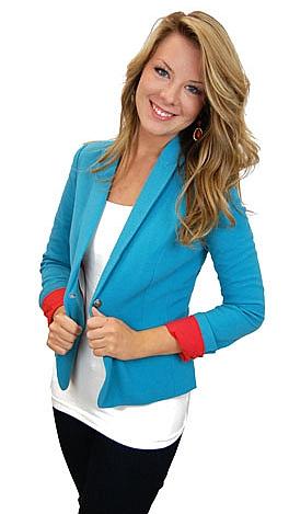 Marlo Blazer, Turquoise