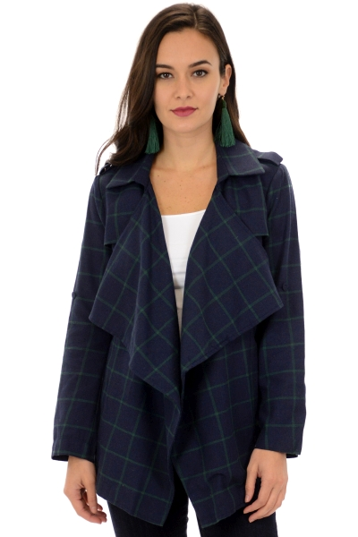 Green Grid Jacket