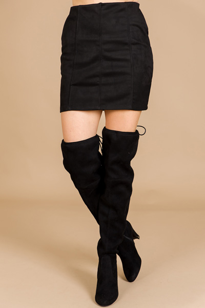 Made for Suede Skirt