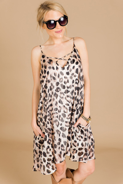Go Wild Slip Dress