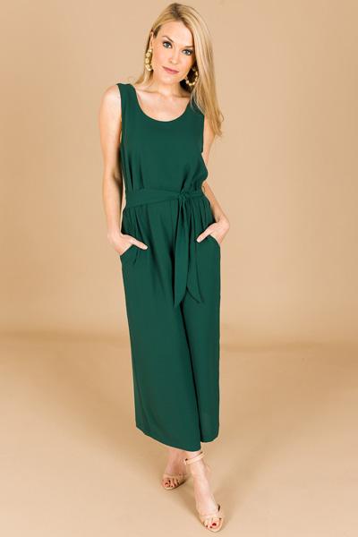 Evergreen Jumpsuit