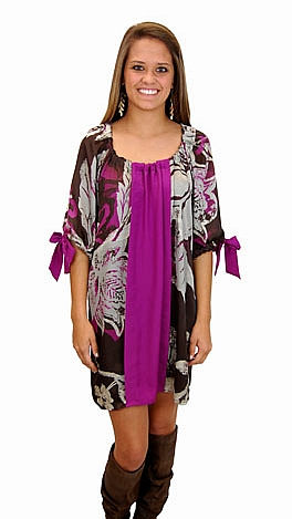 Violet Bows Dress