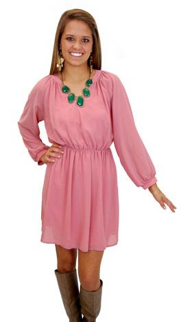 Melrose Dress, Pink