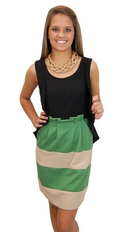 Crystal Dress, Green