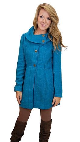 Lifesaver Coat, Blue