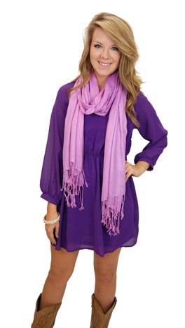Melrose Dress, Purple