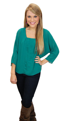 Green Glades Blouse