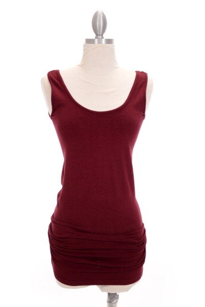 Best Basic Layering Tank Burgundy