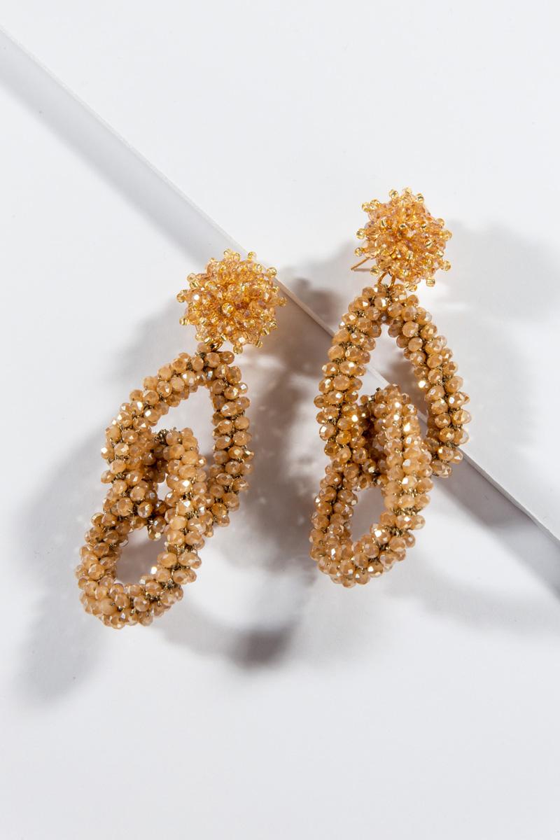 Velinda Bead Links, Gold