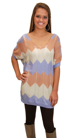 Carrie Sweater, Blue