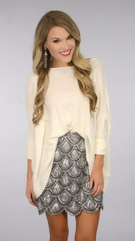Never Fails Sweater, Ivory