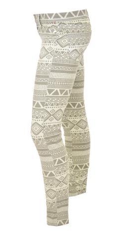 Aztec Lines Pants, Grey /Taupe