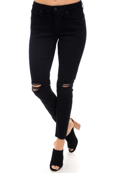 Black Ankle Skinnies