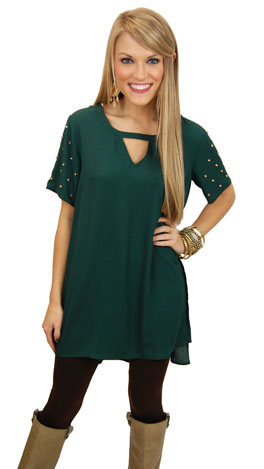 Jingle All The Way Dress, Green