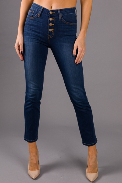Button Fly Straight Jean
