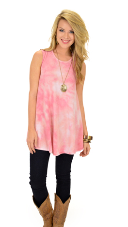 Sky's The Limit Frock, Pink