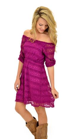 Just Plum Wonderful Dress