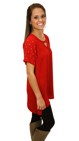 Jingle All The Way Dress, Red