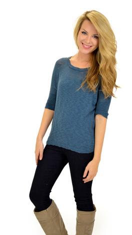 Deep Blue Sea Sweater