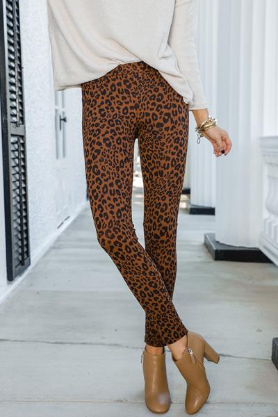 Sanctuary Leggings, Leopard