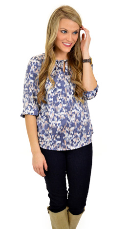 True to Blue Blouse