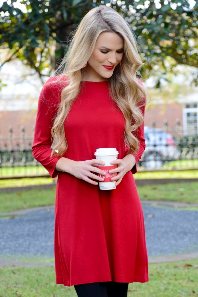 Best Basic Tunic, Red