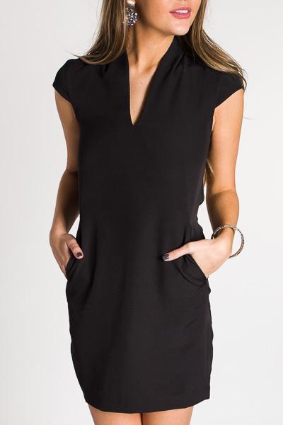 Conversation Starter Dress, Black