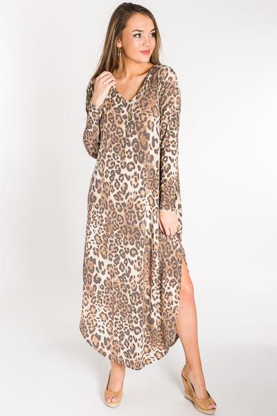 Lost in Leopard Maxi