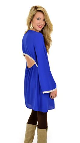 Going Steady Dress, Blue