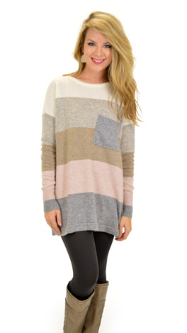 Pacific Sweater, Pink