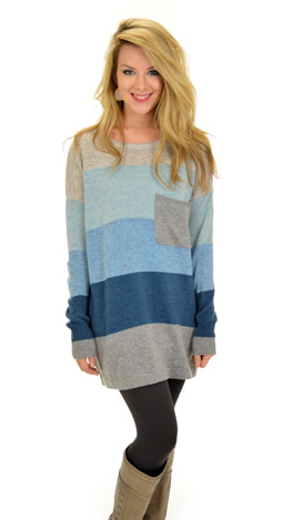 Pacific Sweater, Blue