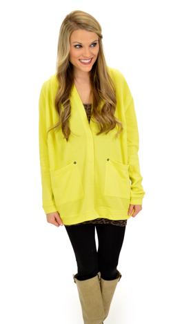 Lulu Hoodie, Yellow