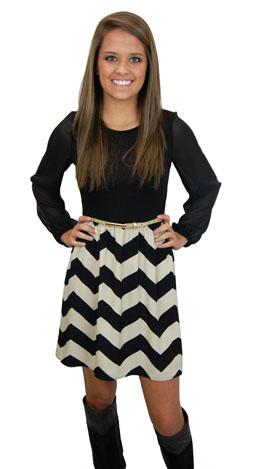 Sadie Dress, Black