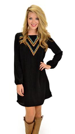 Frontline Dress, Black