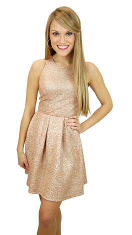 KARLIE Peachy Queen Dress