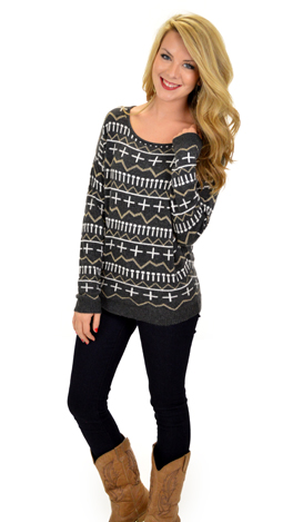 The Pearly Gates Sweater, Char