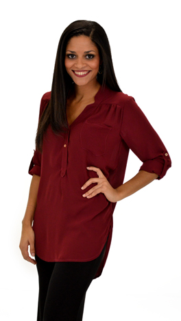 All for One Top, Burgundy