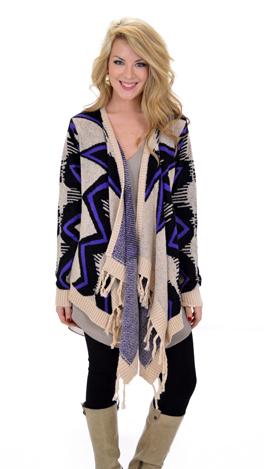 Wild Blue Yonder Sweater