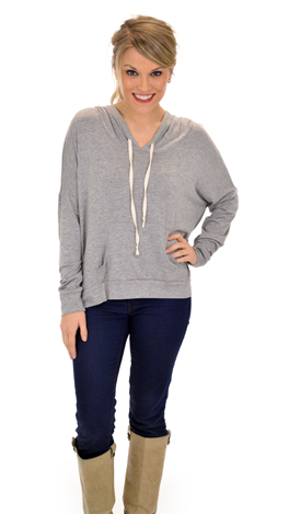 Life on the Go Top, Gray